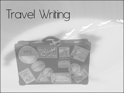 Travel writing articles